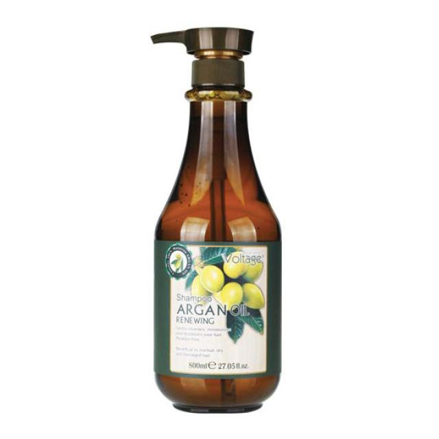 Шампунь для волос восстанавливающий с маслом аргании Argan Oil Kharisma Voltage, 800 мл