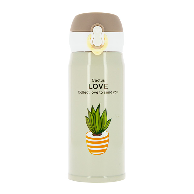 Термос Love Beige Fun Cactus, 350 мл
