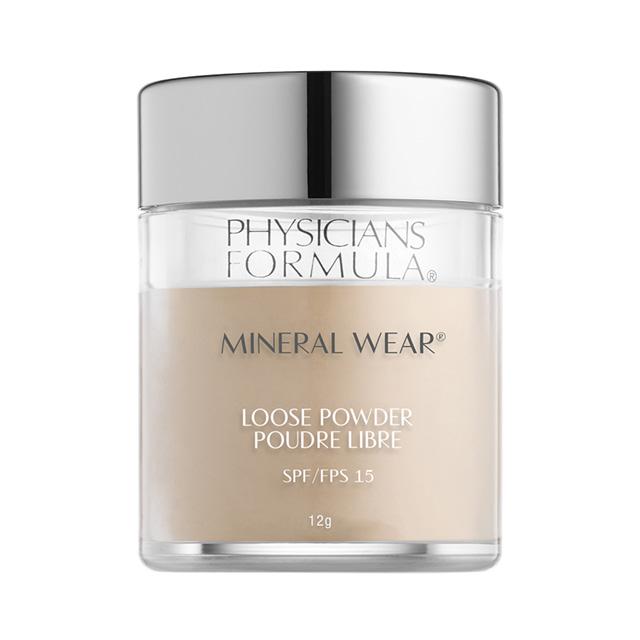 Пудра рассыпчатая для лица Physicians Formula Mineral Wear минеральная