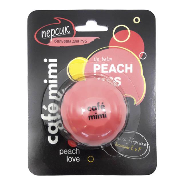 Бальзамы длягуб Cafe Mimi смаслом персика