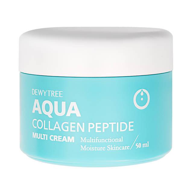 Мульти-крем для лица Dewytree Aqua 3 в 1 сколлагеном
