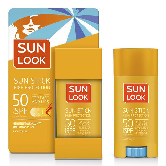 Стик для лица и губ Sun Look солнцезащитный SPF-50