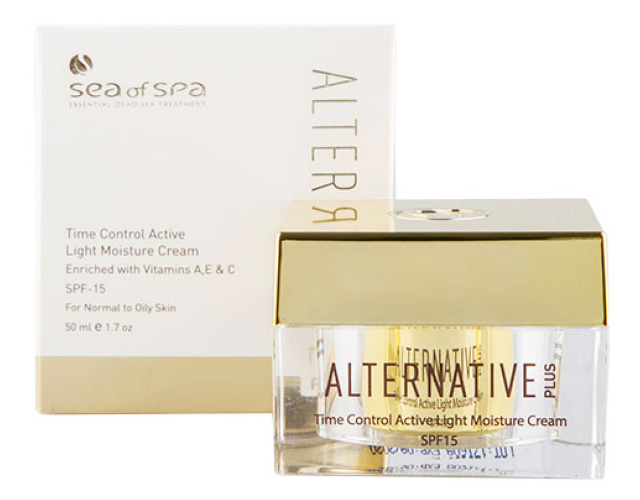 Крем для лица Sea Of Spa Alternative Plus увлажняющий SPF-15 (для нормальной и жирной кожи)