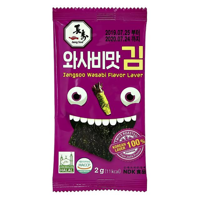 Морские водоросли Jangsoo со вкусом васаби