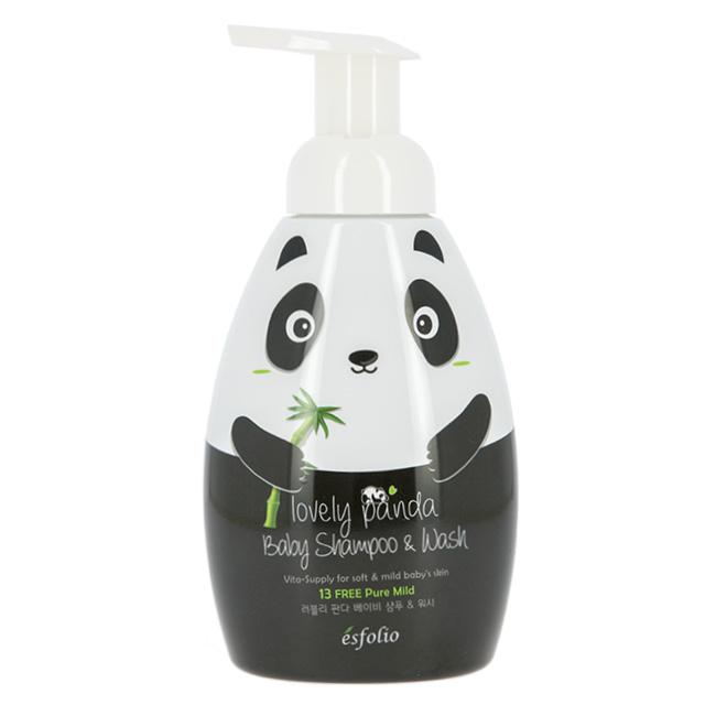 Шампунь и гель для душа детский Esfolio Lovely Panda