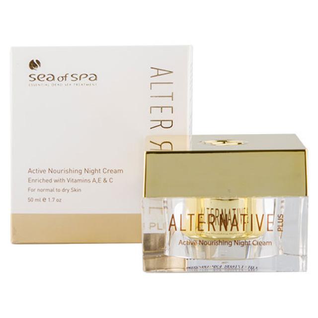 Крем для лица Sea Of Spa Alternative Plus ночной питательный (для нормальной и сухой кожи)