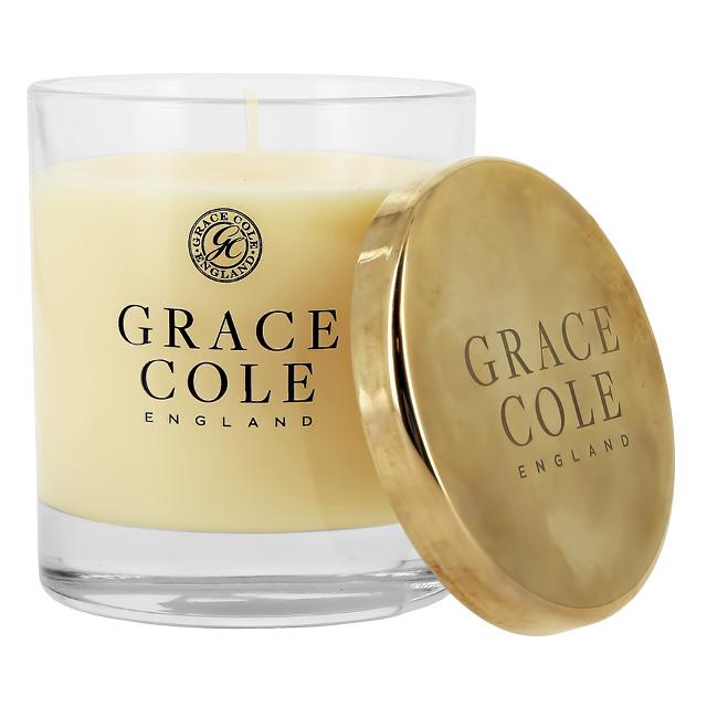 Свеча ароматическая Grace Cole White Nectarine & Pear