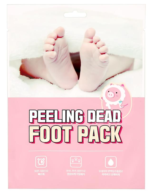 Отшелушивающая маска-носочки для ног Mefactory