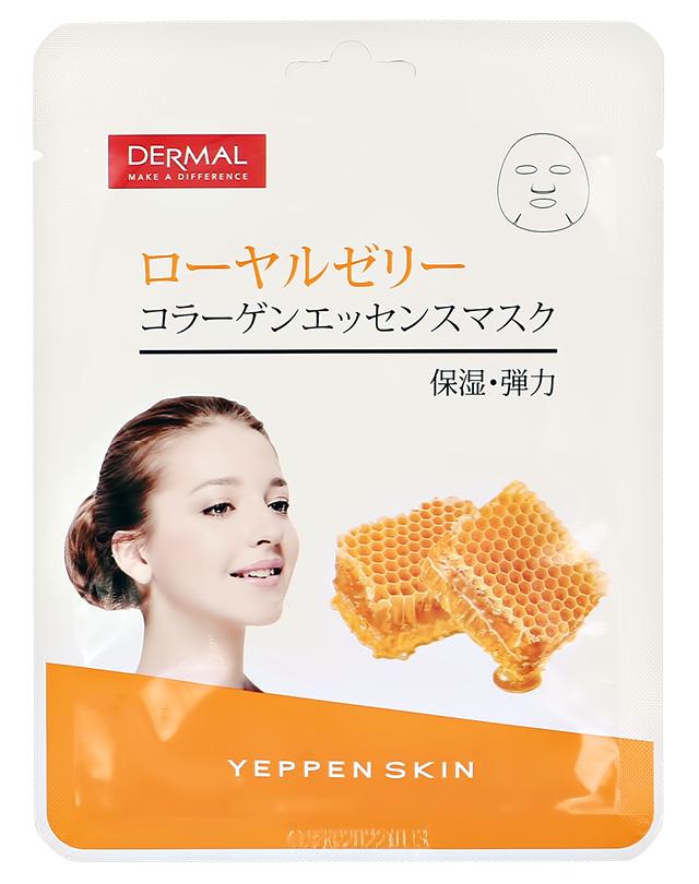Маска для лица Dermal Yeppen Skin с коллагеном и пчелиным ядом (для упругости и эластичности кожи)