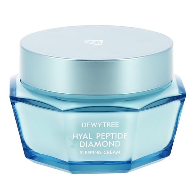 Увлажняющий ночной крем для лица Dewytree Diamond с пептидами