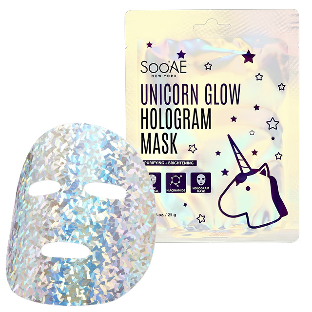 Маска для лица Soo`AE Unicorn Glow (для сияния кожи)