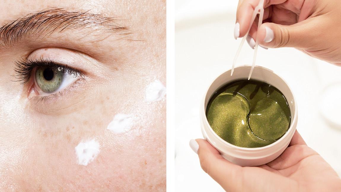 уход за кожей вокруг глаз патчи крем
