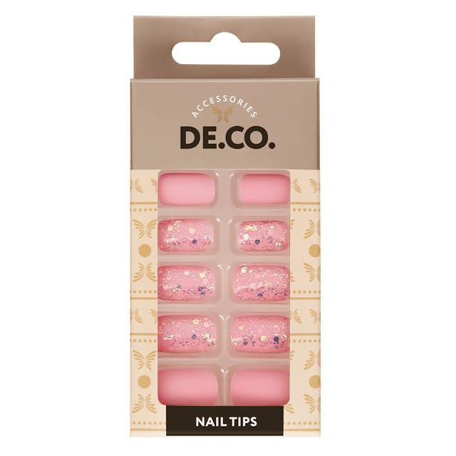 Набор накладных ногтей DE.CO. Holo Candy shop