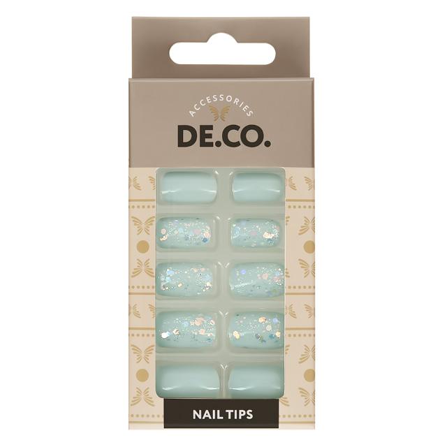 Набор накладных ногтей DE.CO. Holo Frosty