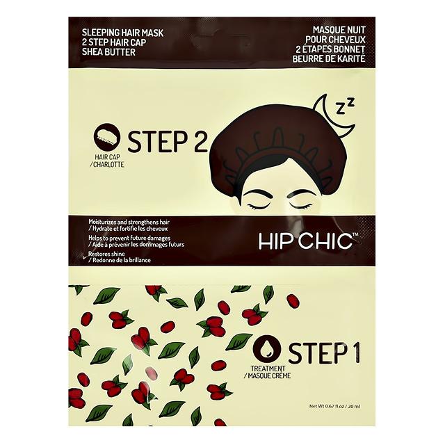 2-Ступенчатая система ухода за волосами HIP CHIC ночная с маслом ши