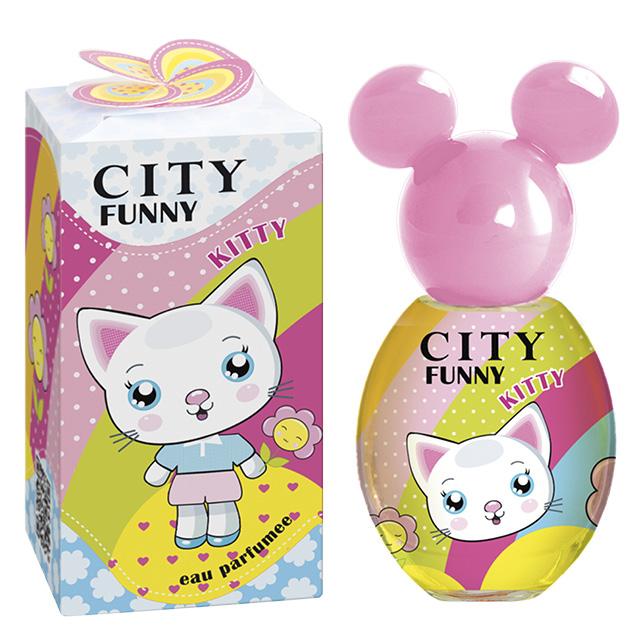 Душистая вода City Parfum City Funny Kitty (дет.)