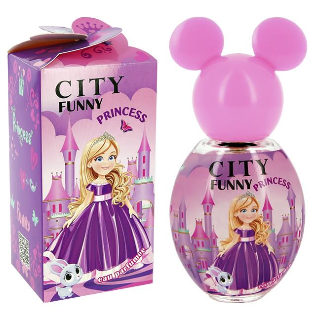 Душистая вода City Parfum City Funny Princess (дет.)