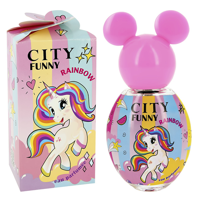 Душистая вода City Parfum City Funny Rainbow (дет.)