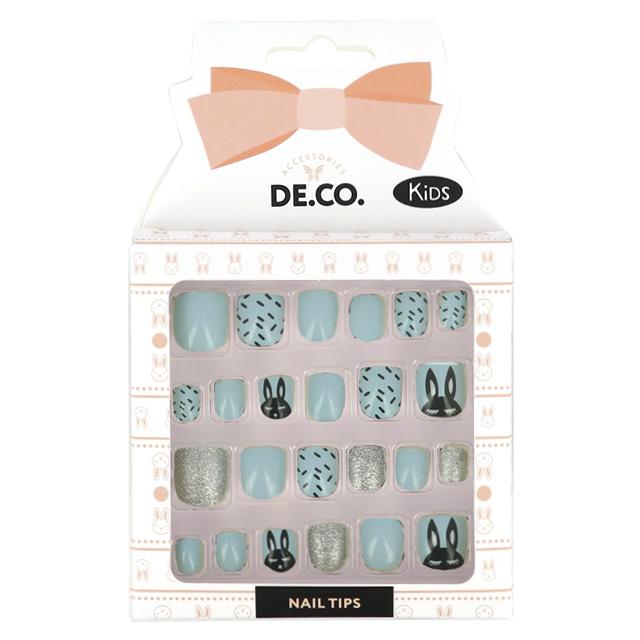 Набор детских накладных ногтей DE.CO. Kids