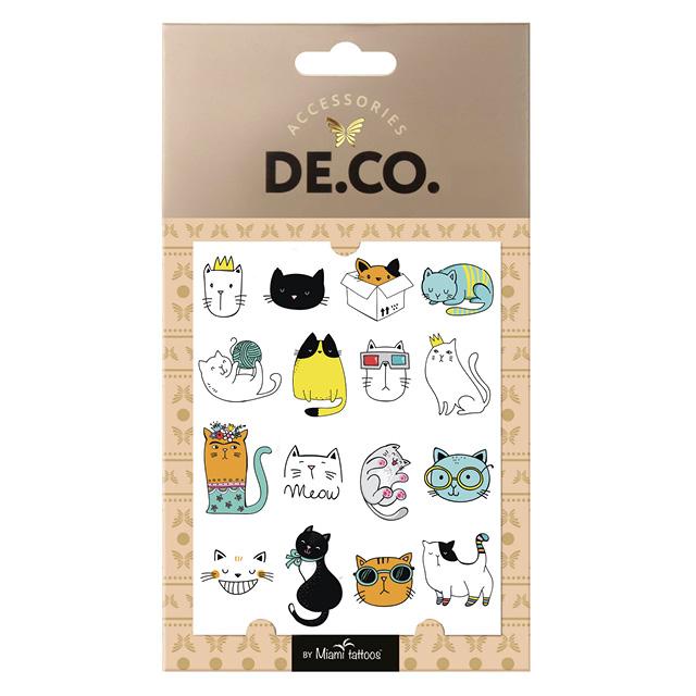 Татуировка для тела DECO. Mini Me by Miami tattoos переводная (Animals)