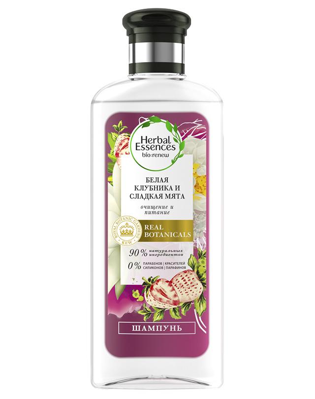 Шампунь для волос Herbal Essences белая клубника и сладкая мята