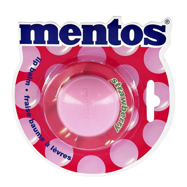 Бальзам для губ Mentos Strawberry