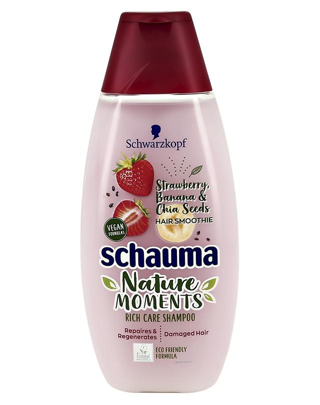 Шампунь для волос Schauma Nature Moments Клубника и банан