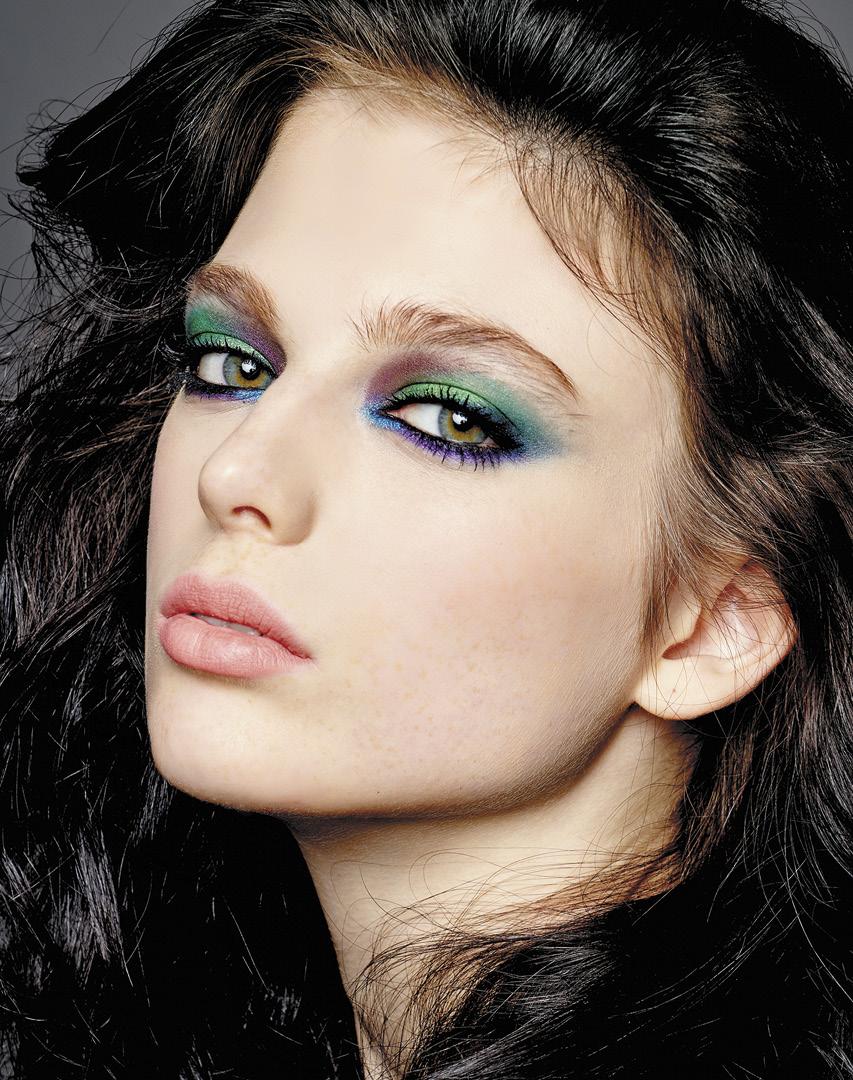макияж в морском стиле