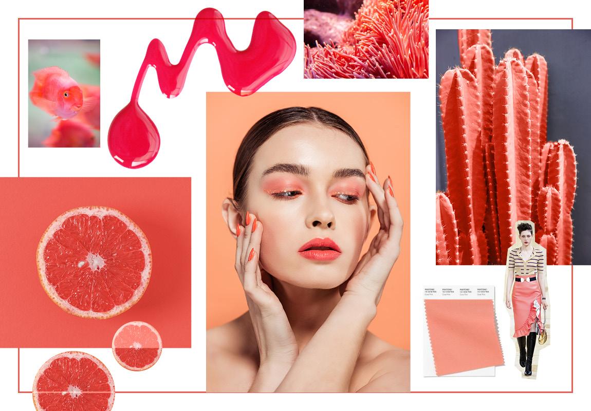 Коралловый розовый (Coral Pink)