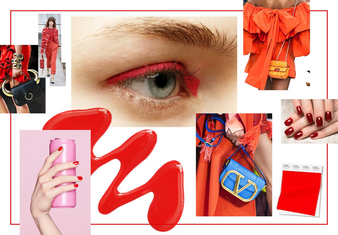 Огненно-красный (Flame Scarlet)