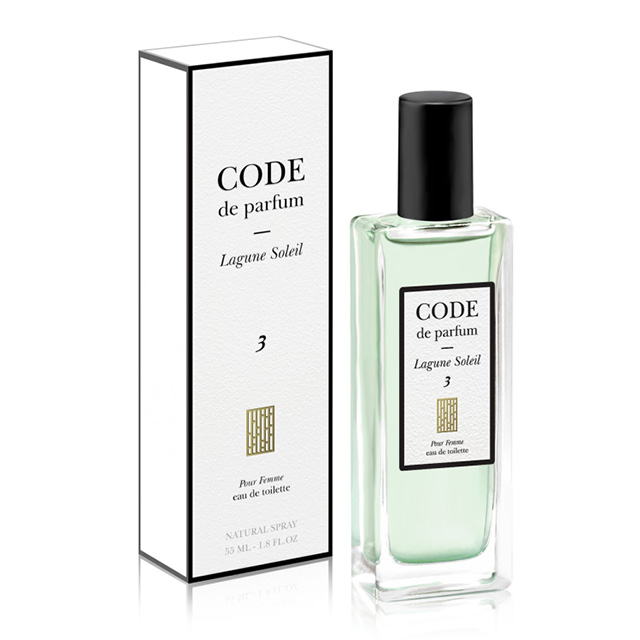 Туалетная вода Unique Code De Parfum 3 lagune soleil