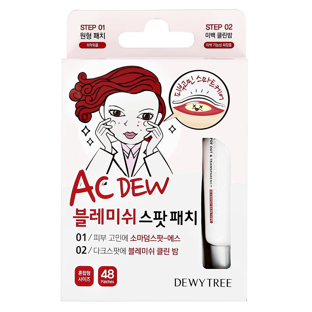 2-ступенчатая система ухода за лицом Dewytree Ac Dew против несовершенств кожи