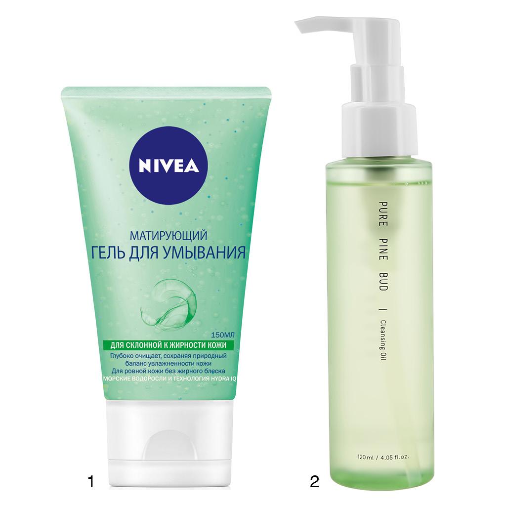 двухэтапное очищение кожи лица