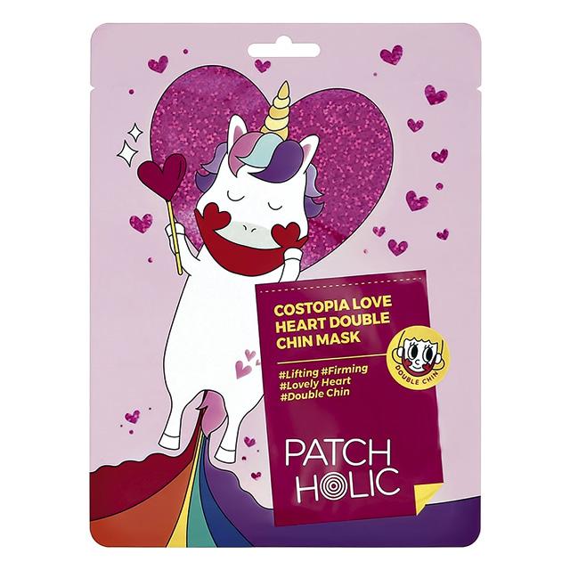 Маска для зоны подбородка Patch Holic с экстрактами розы и вишни