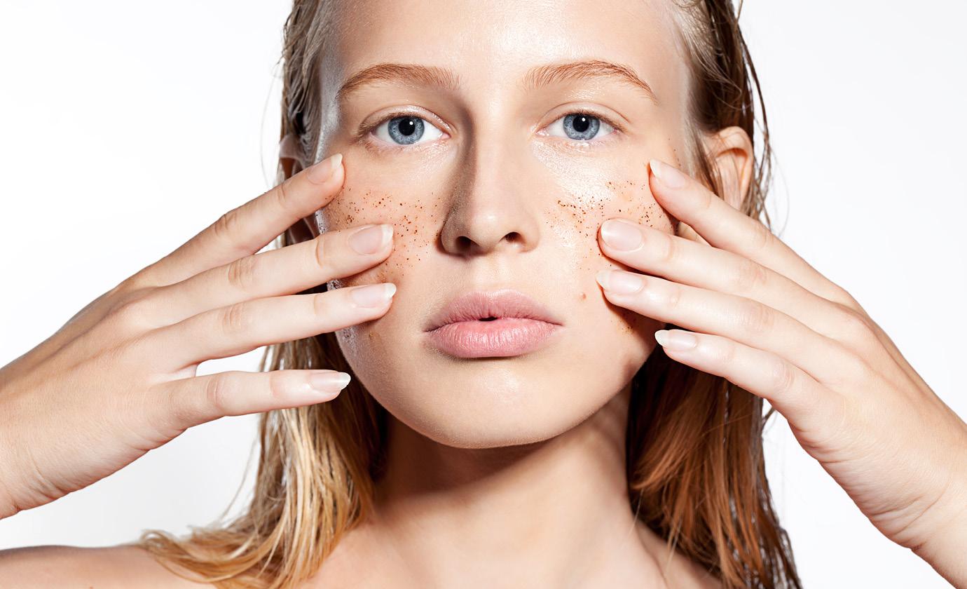 отшелушивание и себорегуляция кожи лица