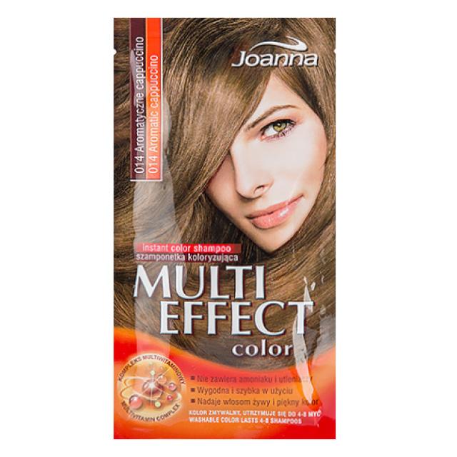 Оттеночный шампунь для волос Joanna Multi Effect Color тон 14
