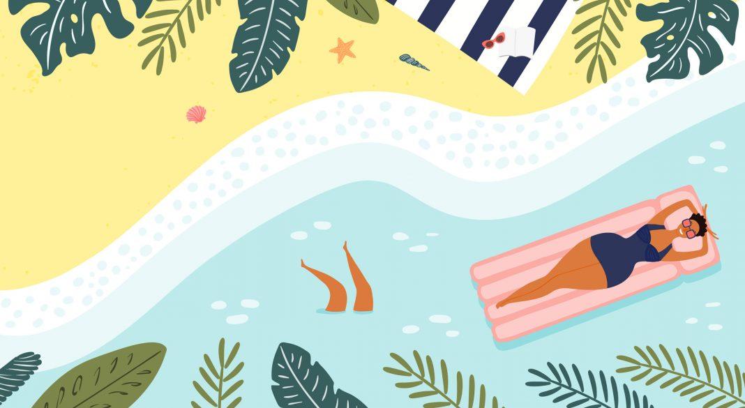 Как правильно защищать кожу от солнца на пляже 2