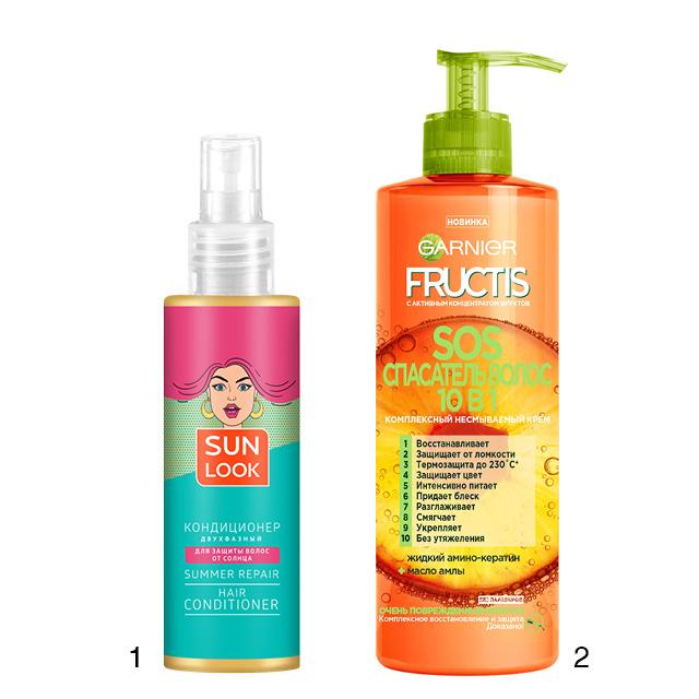 Средства для волос с защитой от УФ-лучей
