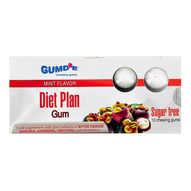 Жевательная резинка Gumd`E Chewing Gums Diet Plan