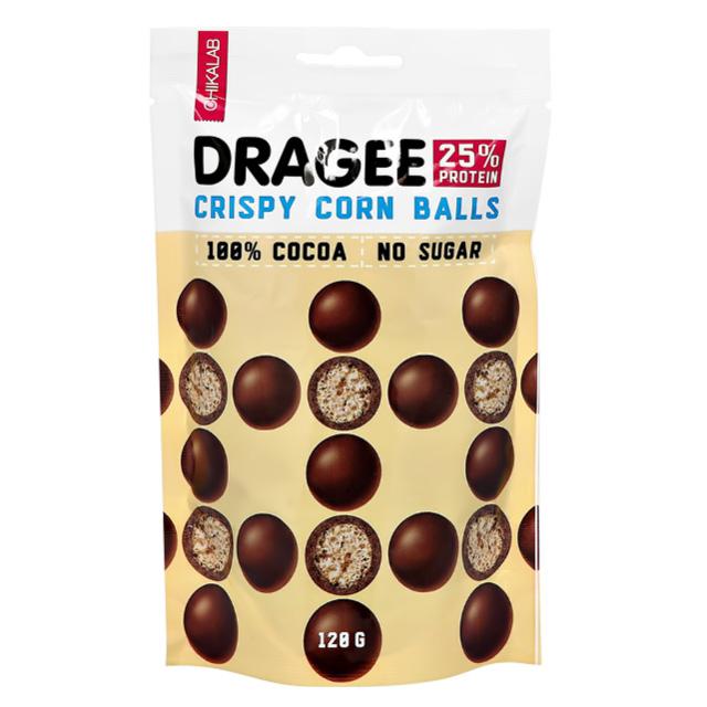 Драже Chikalab Шарики кукурузные в шоколаде