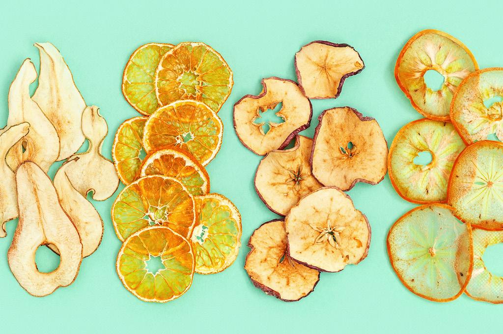 фруктово-овощные чипсы