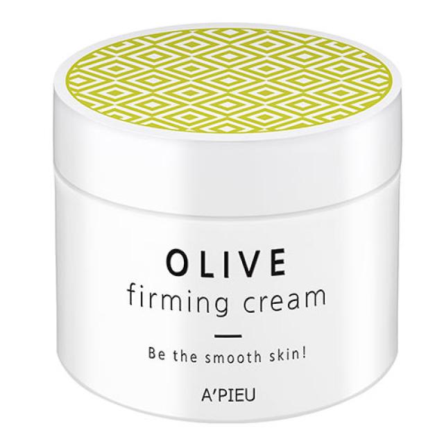 Крем для лица A`Pieu для гладкости кожи Оливковый