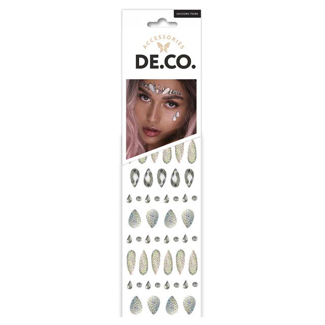 Кристаллы для лица и тела DE.CO. Crystals by Miami tattoos (Unicorn tears)