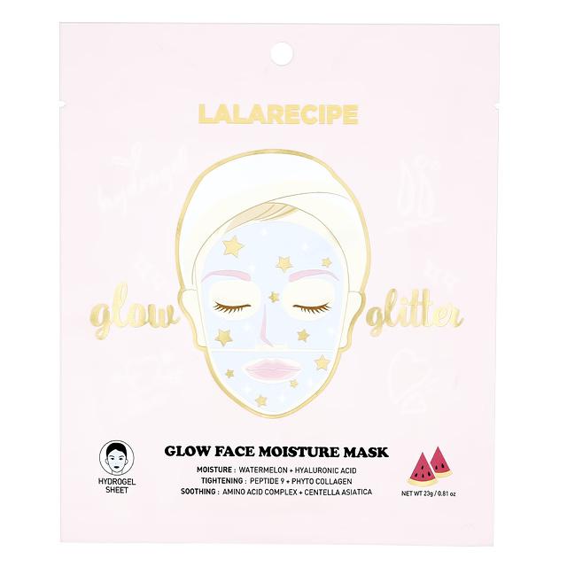 Маска для лица Lalarecipe гидрогелевая (для сияния и увлажнения кожи)
