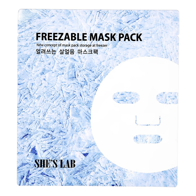 Маска для лица She`S Lab охлаждающая