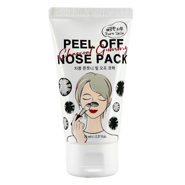 Маска-пленка для носа Esfolio Pure Skin с древесным углем