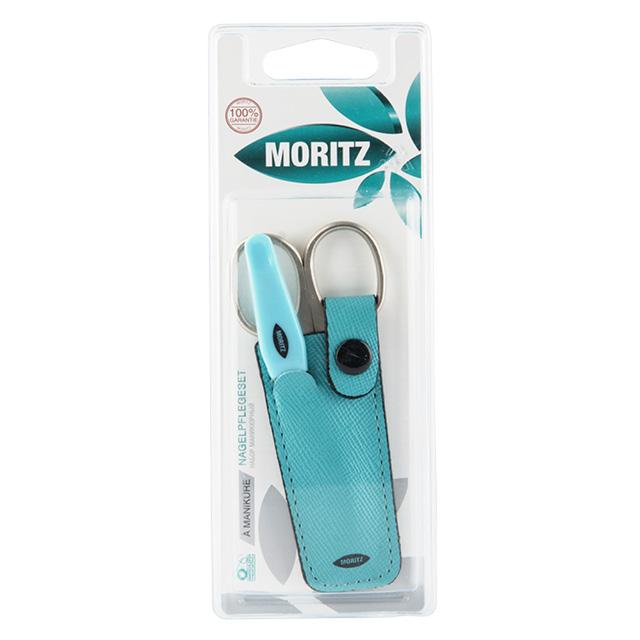 Набор аксессуаров для маникюра Moritz (ножницы, пилка металлическая)