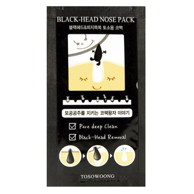 Пластырь для носа Tosowoong против черных точек