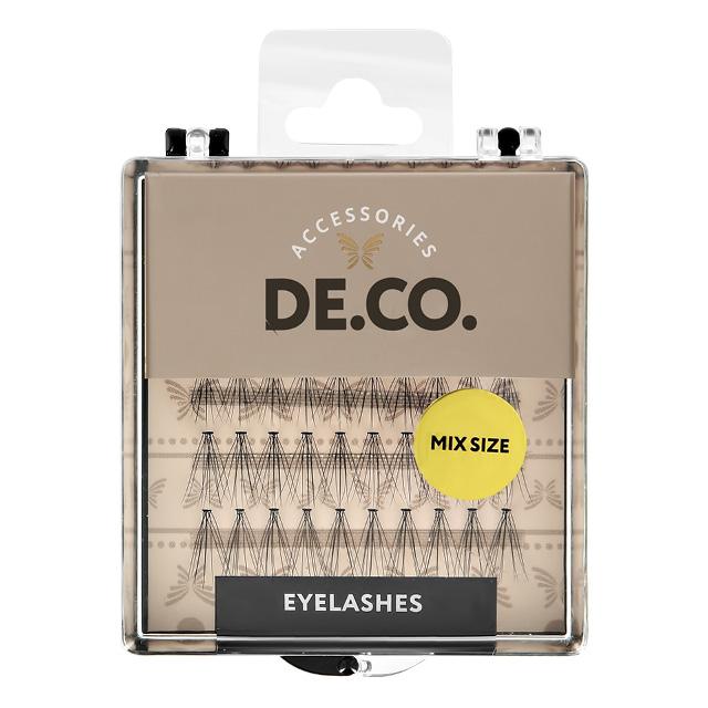 Пучки ресниц DE.CO. с плоским основанием (mix size)