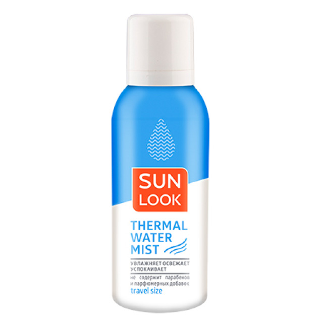 Термальная вода-мист Sun Look travel size